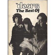 THE DOORS - The best of - LIBRO SPARTITO SHEET USATO 1982 USATO GOOD COND
