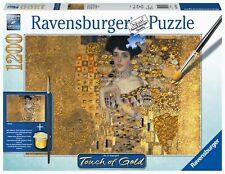 RAVENSBURGER 19934 GUSTAV KLIMT ADELE Toque de Oro Touch of Gold 1200 Piezas