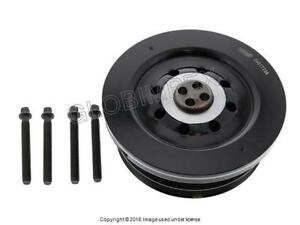 BMW (2009-2013) Crankshaft Pulley (Vibration Damper) CORTECO OEM + Warranty