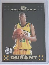 2007-08 TOPPS KEVIN DURANT ROOKIE CARD #112 SEATTLE SONICS