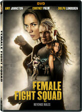 Female Fight Squad DVD Cortney Palm Dolph Lundgren Amy Johnston Mi