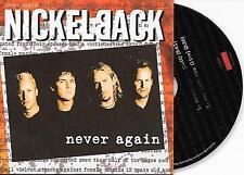 NICKELBACK - Never again CD SINGLE 2TR DUTCH CARDSLEEVE 2002 (ROADRUNNER)