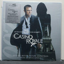 'CASINO ROYALE' Soundtrack Ltd Edition 180g BLUE Vinyl 2LP James Bond 007 SEALED