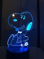 Snoopy with Woodstock Light
