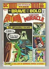 THE BRAVE AND THE BOLD #112, 1974, NM- CONDITION COPY, BATMAN, MISTER MIRACLE