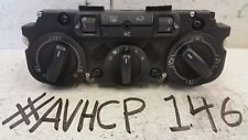 VW EOS 2007 AC CLIMATE HEATER CONTROL PANEL SWITCH UNIT SEATS HEATING CONTROL