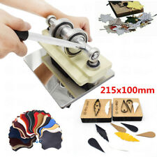 215x100 mm Manual Leather Cutting Machine Die Cut & Leather Embossing Machines