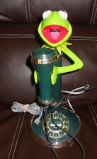 Vintage Kermit The Frog Candelstick Telephone Telemania Phone