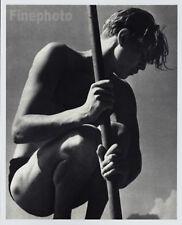 1932/88 Vintage MALE Semi NUDE Naked Man Germany Photo Art By HERBERT LIST 11x14