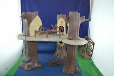 Lovely Vintage 1980's Star Wars ''Ewok Village Play Set'' Made By Kenner RD7720
