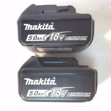 2 x Makita BL1850B NEW LED GAUGE 18V GENUINE Battery 5.0 AH 18 Volt