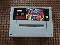 Super Nintendo Spiel Modul WWF Super Wrestle Mania Wrestling SNES / PAL N5