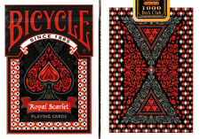 CARTE DA GIOCO BICYCLE ROYAL SCARLET,poker size,limited edition