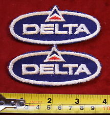 VINTAGE DELTA AIRLINE PATCHES NOS