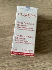 Clarins Gentle Foaming Cleanser 5ml Brand New
