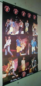ROLLING STONES 1981 Stage Vintage Tour POSTER