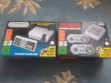 Nintendo NES Classic Mini AND Super Nintendo SNES Classic Mini