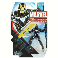 MARVEL UNIVERSE Collection_Zero-Gravity Black and White Space Armor IRON MAN_MIP