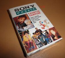 REN & STIMPY rory KENNY LOGGINS nicolette larson SONY sampler TAPE cassette