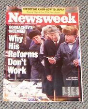 Newsweek 11/89: Gorbachev's Dilemma. Why his Reforms don't work