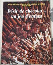 CHOCOLAT : Livre de recettes de cuisine - desserts un jeu d'enfant