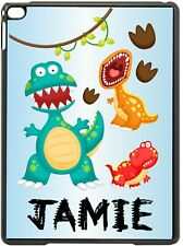 Personalised Dinosaur Kids Apple Ipad case 2/3/4 & Mini 1/2/3 Mini 4/5 2019