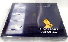 Herpa Wings 1:500 514088 SINGAPORE AIRLINES Heritage Series 4 (Set of 4 Models)