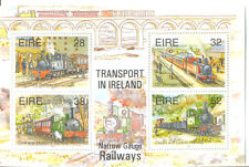 Ireland-Railways-trains mnh min sheet 945MS