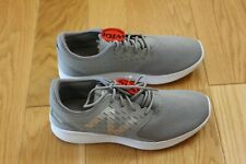 Boys' New Balance athletic shoes, size 4 wide width. Gray color. New, in box.