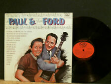 LES PAUL & MARY FORD  Very Best Of . . .    LP  Great !