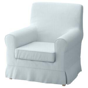 New Original IKEA cover set for Ektorp JENNYLUND armchair NORDVALLA LIGHT BLUE