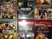 Lot of 8 PS3 Games (J-Stars VS +, Call of Duty Black Ops, NBA2K11, and More)!