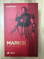 Hot Toys DS 003 Iron Man Mark III 3 (Construction Version) NEW