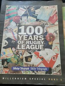 10-Part Millennium Special -100 Years of Rugby League Papers in Folder 2008