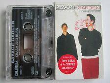 Savage Garden – Crash And Burn. Columbia 669044 4 UK tape cassette single