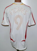 SPAIN 2006/2007 AWAY FOOTBALL SHIRT JERSEY ADIDAS TORRES #9 SIZE M ADULT