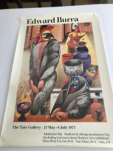 Edward John Burra, Birdmen and Pots, Tate Gallery,1973