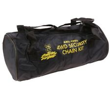 New Anti-Theft 4WD Security Chain Kit Bag Portable Cary Car Trailer Truck Gym