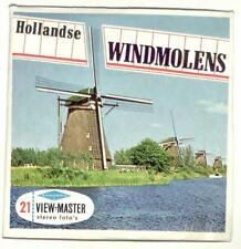 vintage SAWYERS View Master HOLLANDSE WINDMOLENS foreign MADE IN BELGIUM dutch !