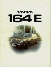 Volvo 164 E 1973-74 UK Market Sales Brochure