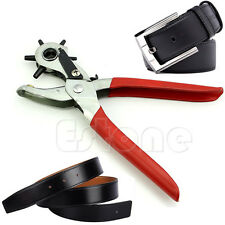 Revolving Leather Strap Watch Band Belt Hollow Hole Stamp Puncher Punch Plier