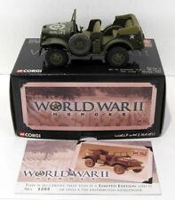 Corgi 1/43 Scale CC51708 - WC56 Command Car US Army Scicily 1943