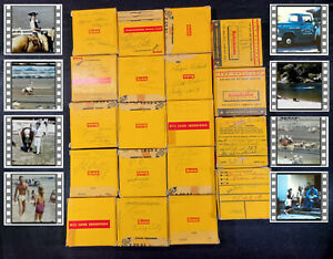 8MM Home Movie Lot Vintage Films 1950s Family Ranch California Horse Shows Rodeo