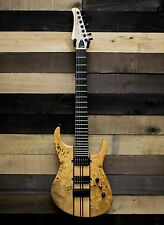 Allen Eden Guitars 1992 Seven String Burl Maple Electric Guitar with Case