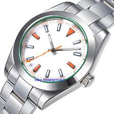 Classic Sapphire Glass Parnis 40mm Men's 2813 Movement Gents Automatic Watch