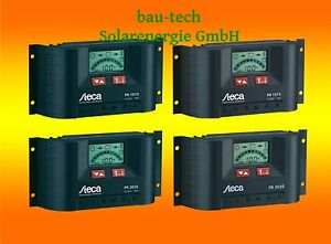 Laderegler Steca PR1010 / PR1515 / PR2020 / PR3030 mit LCD Display
