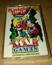 CAVALIERE Tyme da pazzi giochi per Amstrad CPC COMPUTER VINTAGE RARE