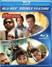 The Hangover and Hangover Part II [Blu-ray] Double Feature 2 Disks