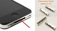 Connecteur de charge 30 Pin Iphone 4/4s Usb Jack Prise Pièce de rechange réparer