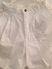 Women's Canyon River Blues Shorts White Color Size XL (18-20) Made in USA
